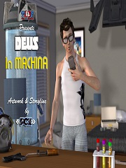 Y3DF – Deus In Machina | 3D Incest Porn Comics