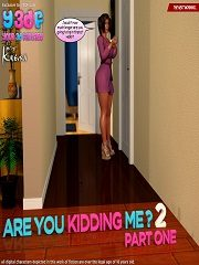 Y3DF – Are You Kidding Me 2 | 3D Incest Porn Comics