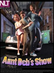 NLT Media – Aunt Deb's Show, 3D Incest Sex Comics