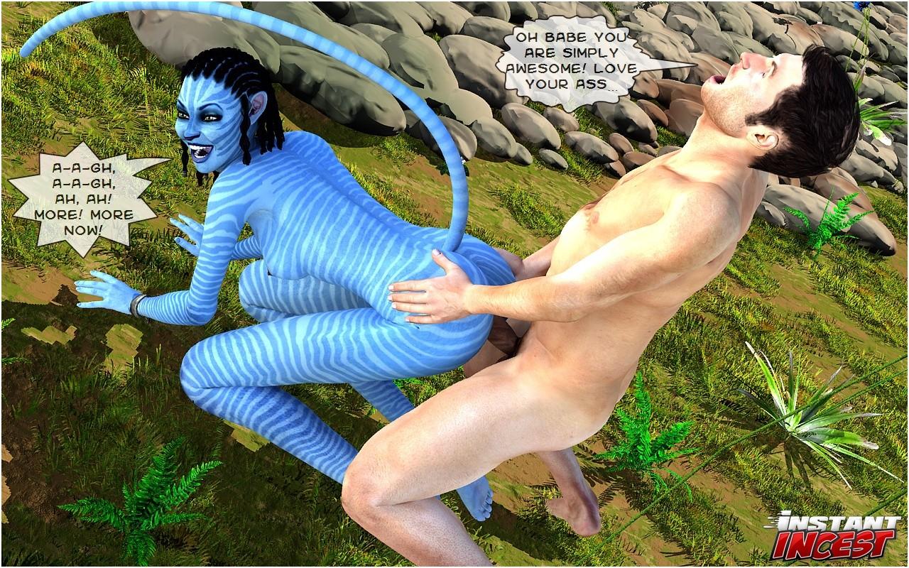Порно фильм аватар 3д