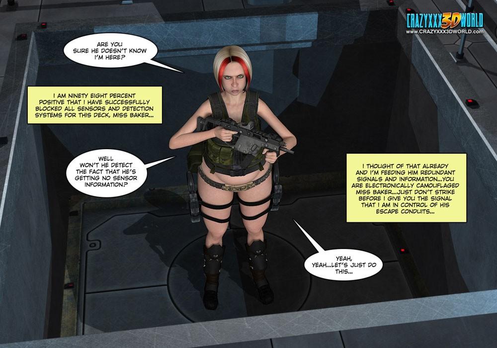 10 habital 3д комикс