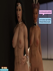 Squarepeg3D – The F.U.T.A. – It Came From Behind | 3D Porn Comics