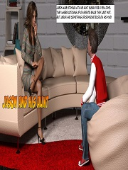 Jason And His Aunt – 3D Incest Porn Comics