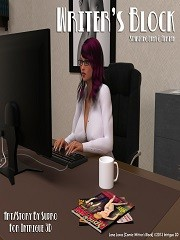 Supro – Lana Loves Writer's Block | 3D Porn Comics