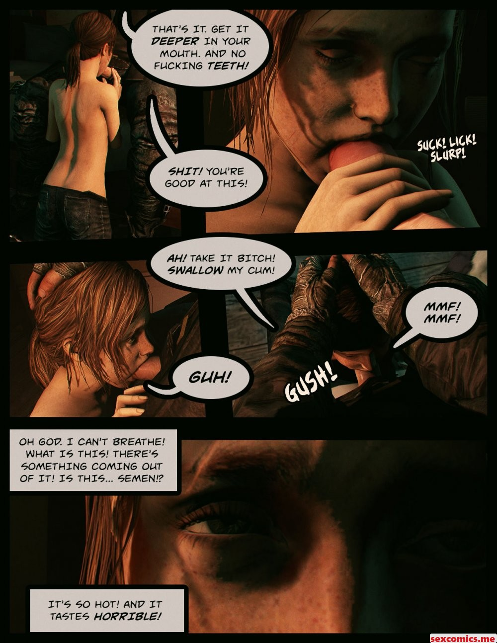The last of us porn comic
