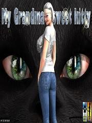 Piltikitron – My Grandma's Sweet Kitty | 3D Futanari Porn Comics
