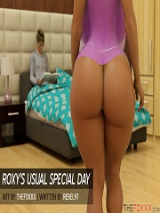The Foxxx - Roxy's Usual Special Day | 3D Porn Comics