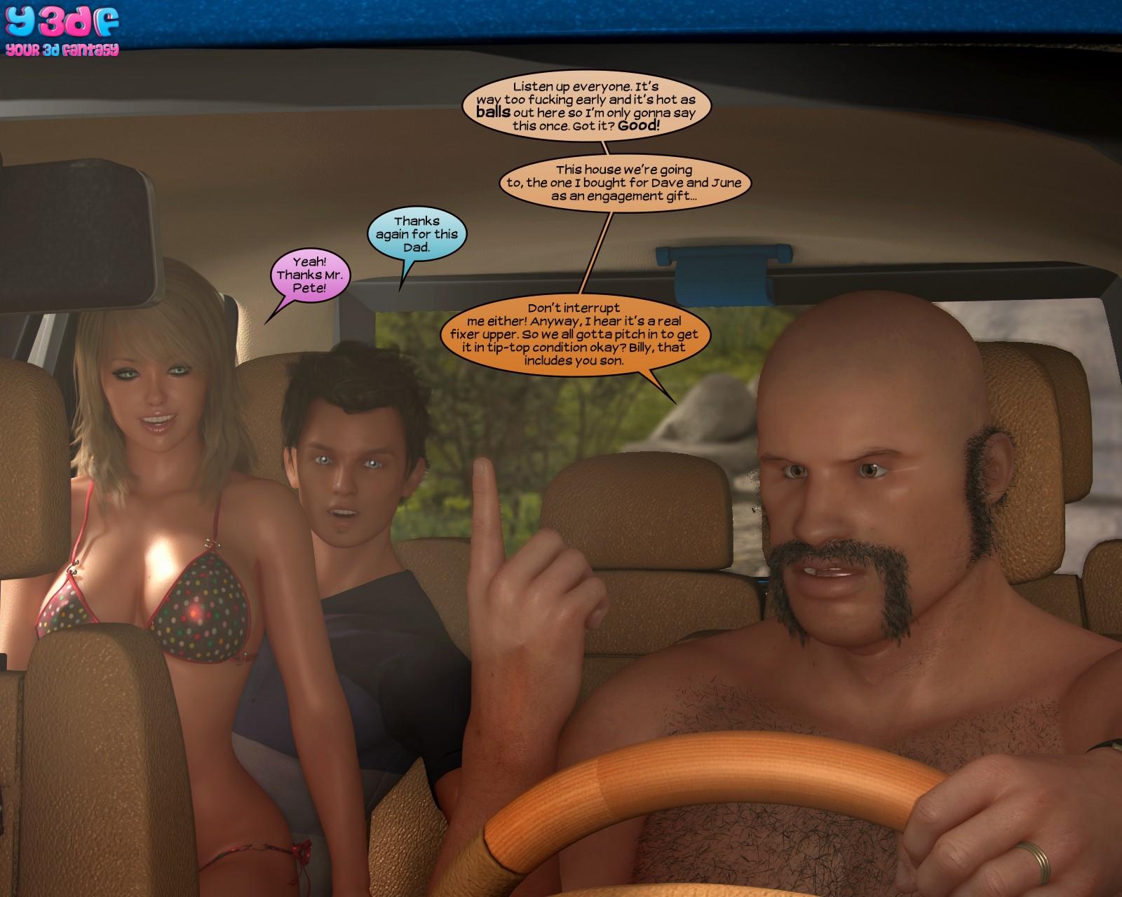 Y3Df - Strangers In A Strange Land - 3D Incest Sex Porn Comics-6097