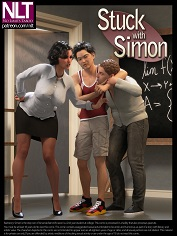 NLT Media – Stuck With Simon | 3D Incest Sex Comics