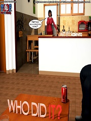 Y3DF – Who Did It? 1, 2, 3, 4 Complete! | 3D Porn Comics
