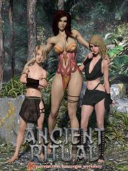 Bazoongas Workshop - Ancient Ritual - Sex And Porn Comics