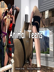 Animal Teens - Dtrieb (German) | 3D Porn Comics