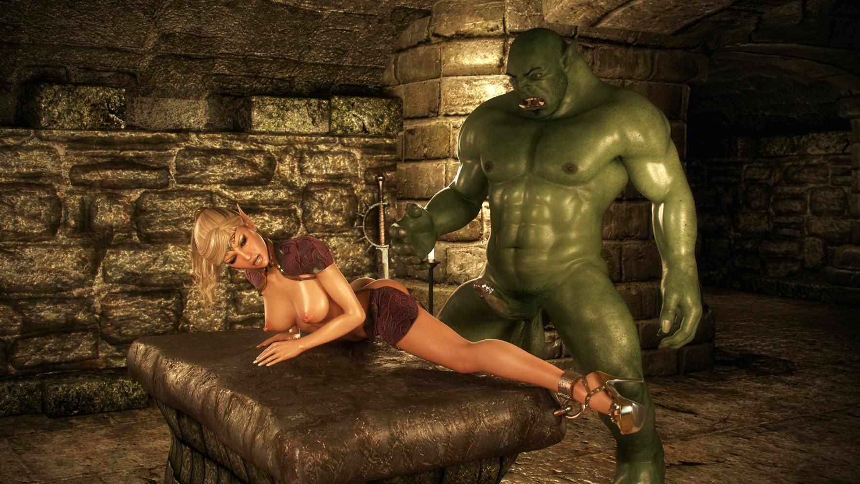 секс с играми с ельфийкой