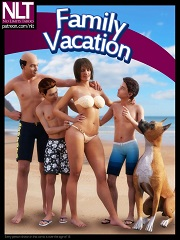 NLT Media – Family Vacation | 3D Incest Sex Comics