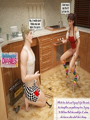 Dad Daughter Diaries – Fix The Problem | 3D Incest Porn Comics