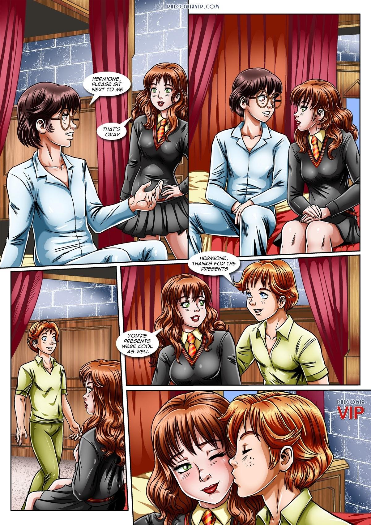 Harry potter sex comic