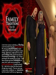 IncestChronicles3D- Family Traditions 3- Initiation- Sex And Porn Comics