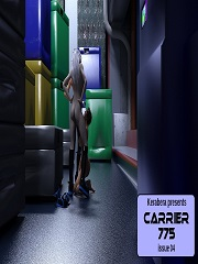 Kerabera – Carrier 775 – Issue 4 | 3D Futanari Porn Comics