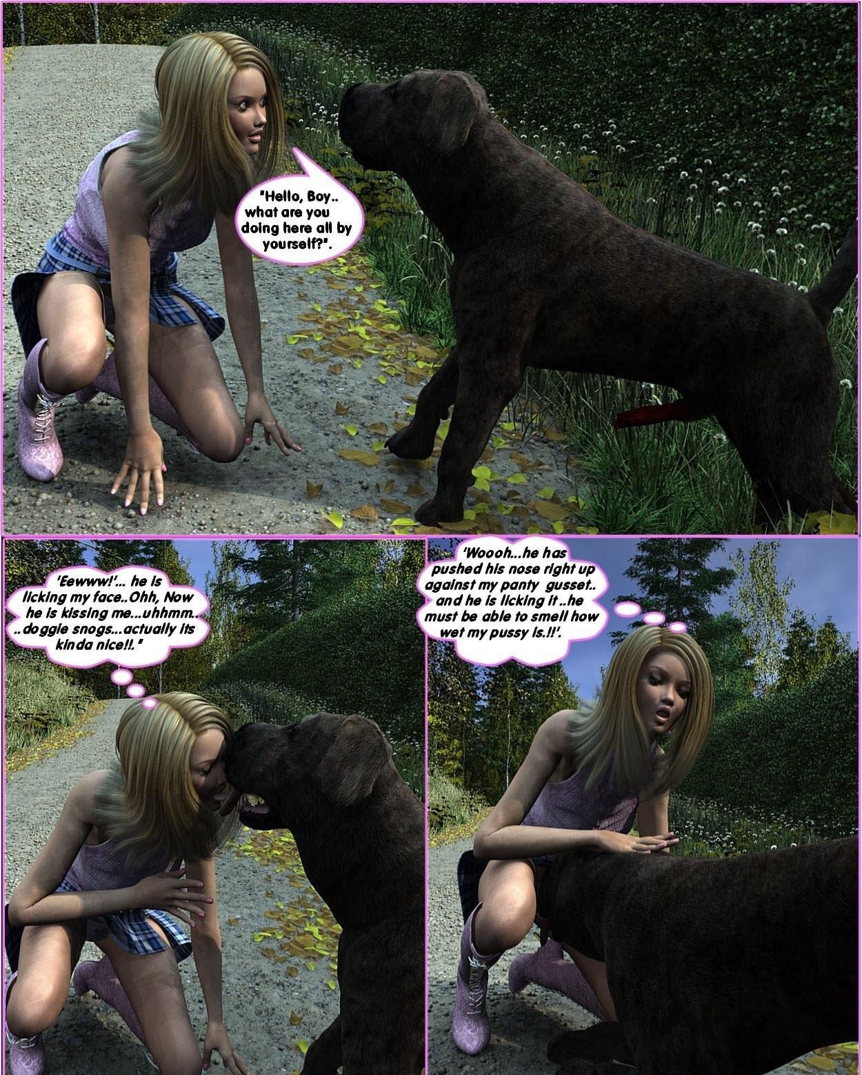 Animal Babe Porn darksoul3d – racheal's romp – sex and porn comics
