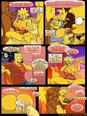 Kogeikun - Sexy Sleep Walking - The Simpsons Parody | Porn Comics