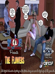 Y3DF - The Flowers 1 | Free Family 3D Incest Porn Comics