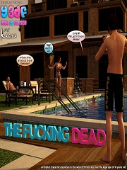 Y3DF - The Fucking Dead | 3D Family Incest Porn Comics