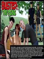 IncestChronicles3D - Busted - The Picnic | 3D Incest Porn Comics