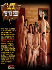 IncestChronicles3D – Ranch – The Twin Roses 5 | Incest Porn Comics