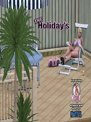 Y3DF - The Holidays 1 | 3D Incest Sex And Porn Comics