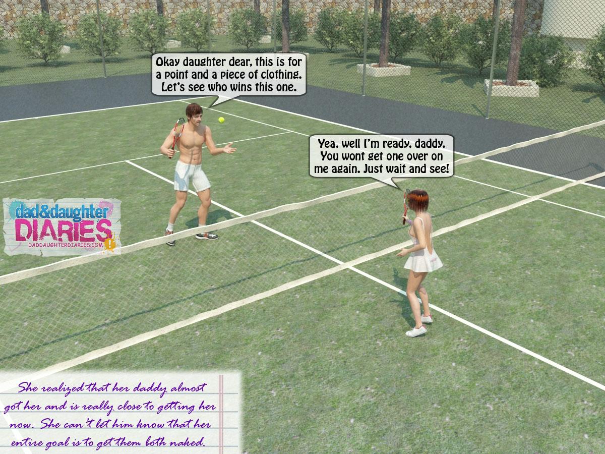 Sex At Tennis Game
