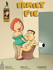 Family Pie 1-2 - Family Guy Porn Parody Comics - Sex Comics