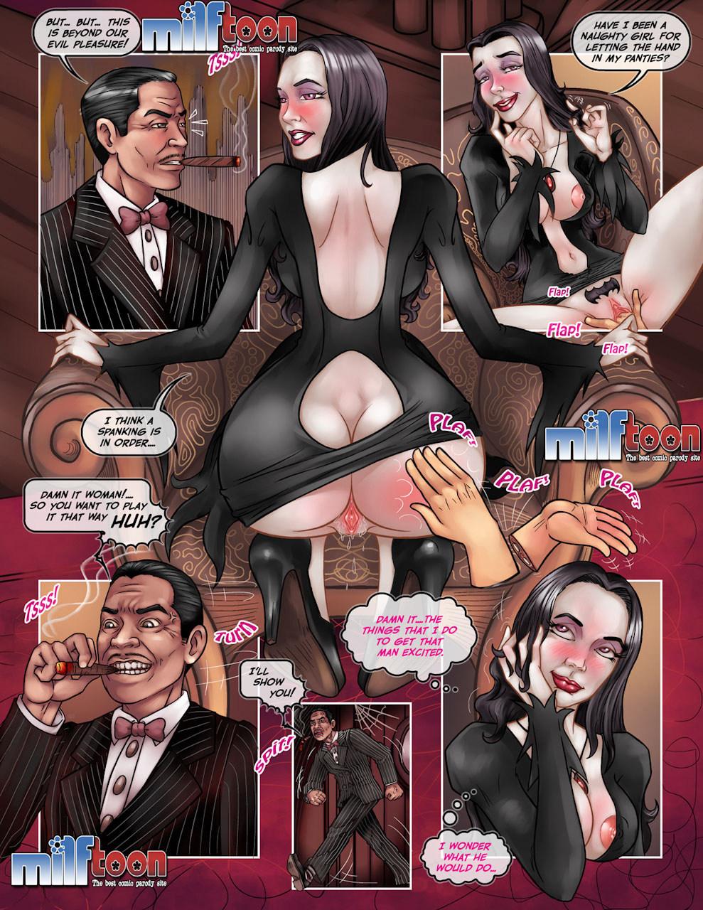 Addams Family Porn milftoon – addams family porn parody porn comics