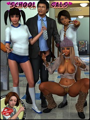Daniel40 – School Gals – Sex And Porn Comics