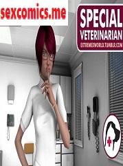 ExtremeXWorld – Special Veterinarian – Dr. Anett | Animal Porn Comics