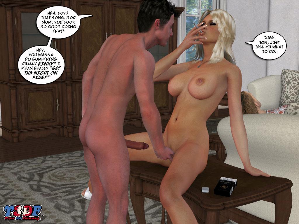 порно комиксы мама и сын из симс3