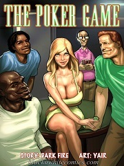 BlacknWhiteComics – The Poker Game – Sex And Porn Comics
