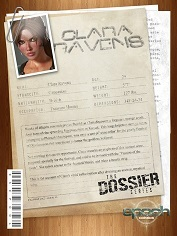 Epoch Art - The Dossier 4 - Clara Ravens - 3D Sex And Porn Comics
