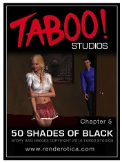 Taboo Studios – 50 Shades of Black 5 | 3D Interracial Porn Comics