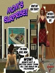 Donelio – Mom's  Surprise | Free Porn Comics