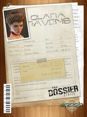 Epoch Art- The Dossier 12- Clara Raven- Grand Horizontal- Sex Comics