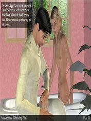 Iesys Comics - Educating Ella - 3D Incest Sex Porn Comics