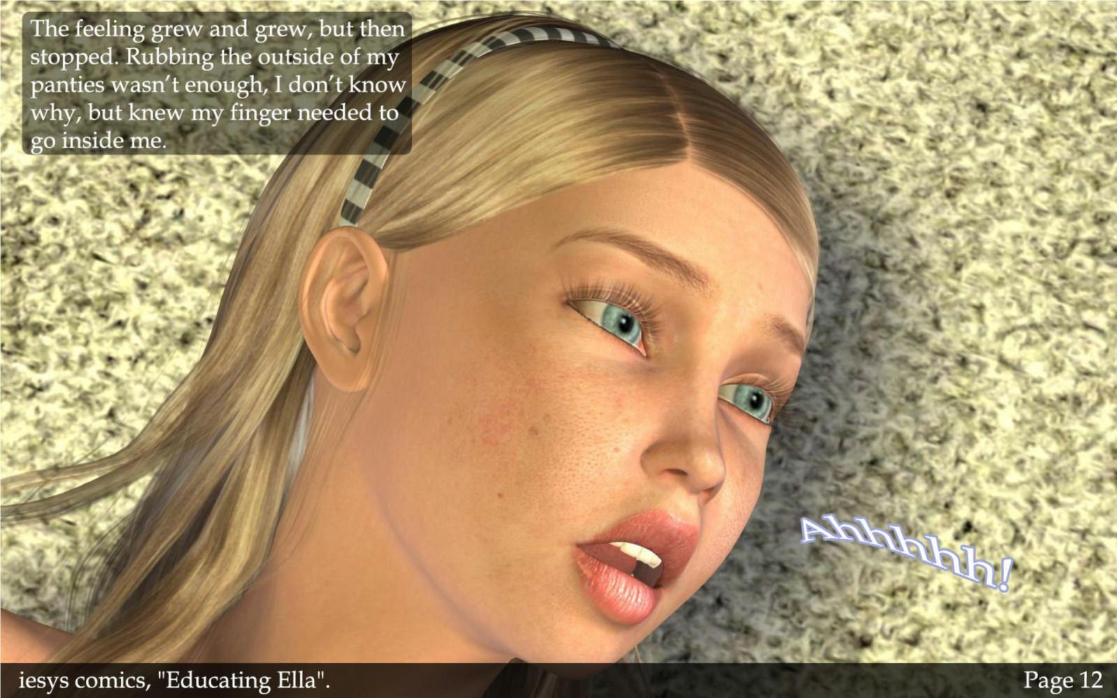 3d porn educating ella consider