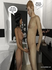 IncestBDSM- Niece gets pleasured in the shower- Sex And Porn Comics