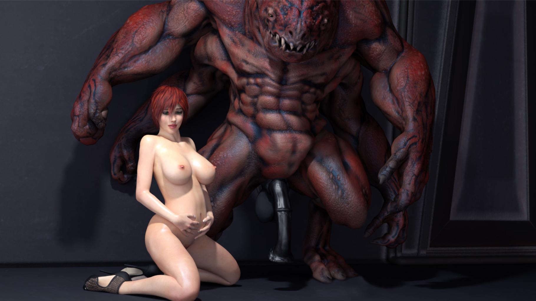 аниме ебут монстры в 3d