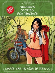 Children's Stories for Perverts, Chapter One: Little Red Rider -Porn Comic