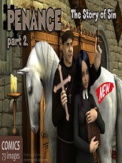 ExtremeXWorld -Penance 2 -The Story Of Sin -Animal Sex Porn Comics