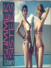 TGTrinity - Summer Sisters | 3D Sex and Porn Comics