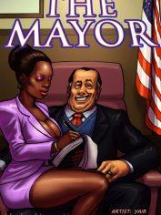 BlacknWhiteComics-The Mayor