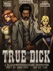 BlacknWhiteComics-True Dick