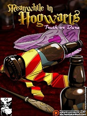 Fuckit – Harry Potter – Meanwhile in Hogwarts – Truth or Dare – Sex and Porn Comics